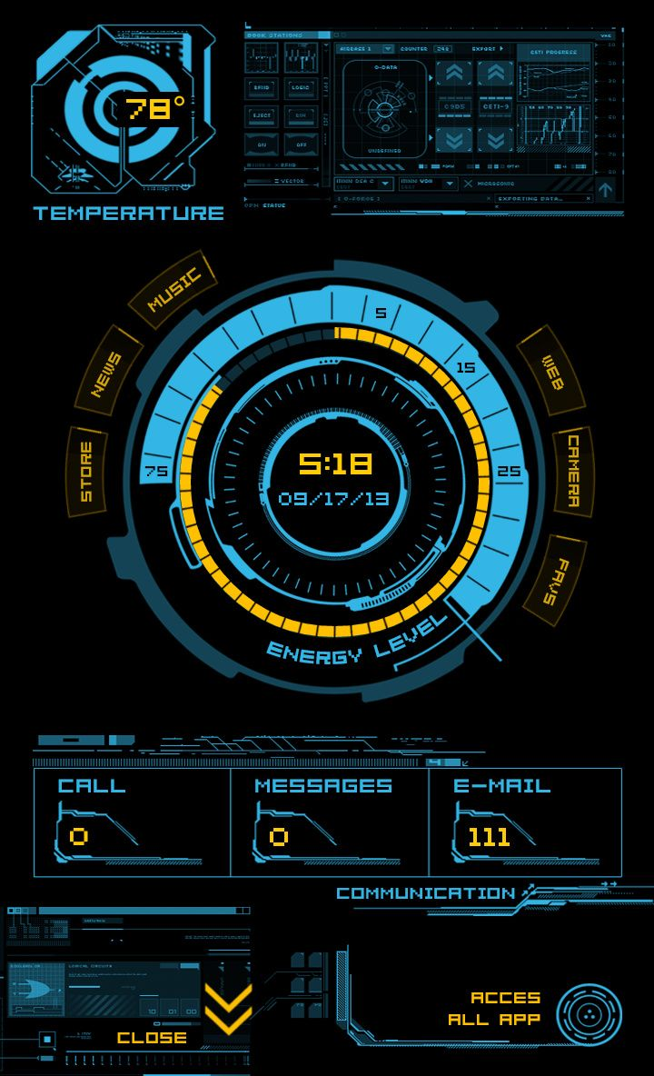 HUD for Themer Android Homescreen by Themer ...