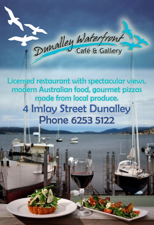 Dunalley Cafe - 'best coffee this (being East) of Hobart'
