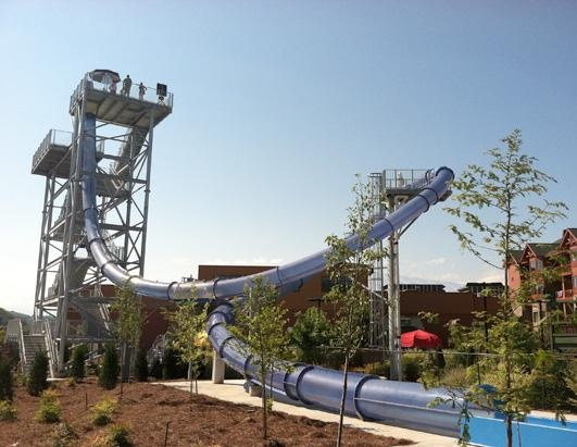 Wild Vortex at some park in Tenn. A looped water slide... WHAT?!?!
