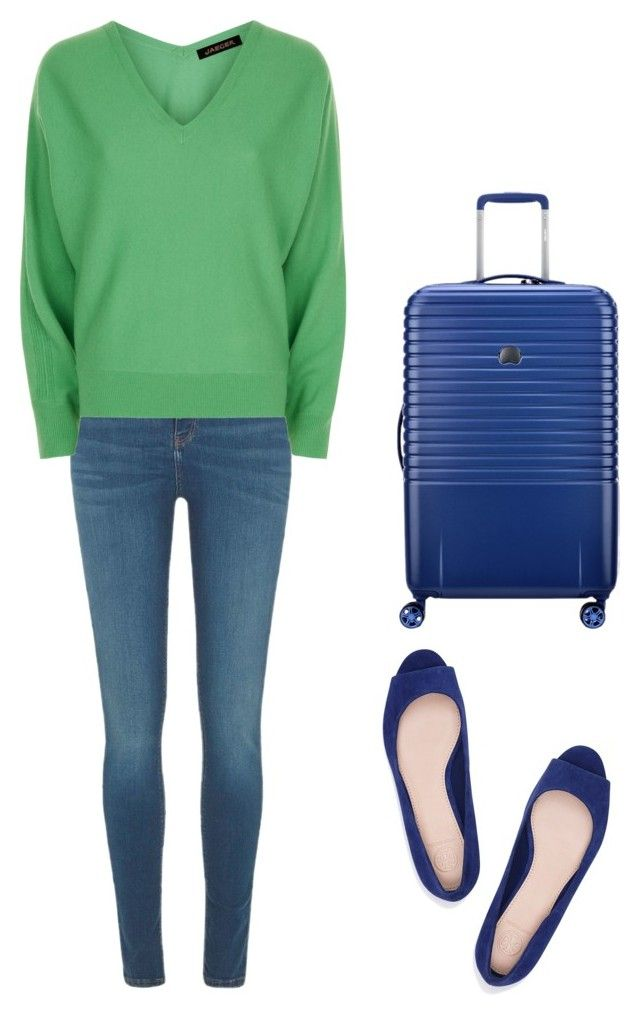 """""""Аналогия"""" by teriaevaap on Polyvore featuring мода, River Island, Jaeger, Delsey и Tory Burch"""