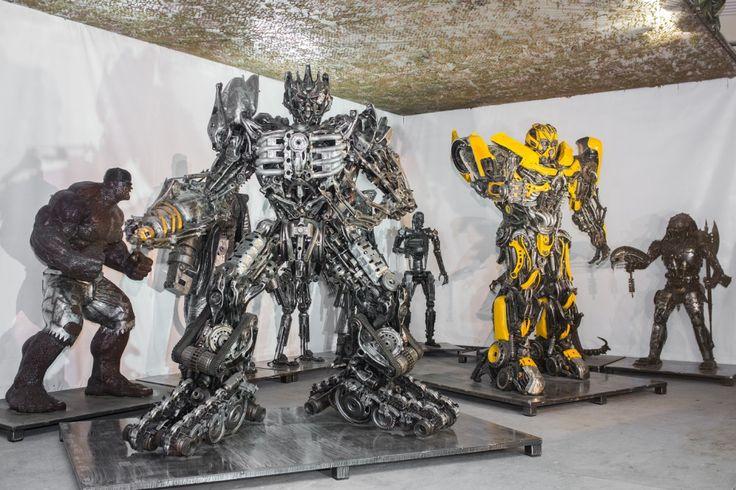 GALLERY OF STEEL FIGURES - PRESENTS The Gallery of Steel Figures will find many sculptures of steel in the world https://www.facebook.com/GALERIAFIGURSTALOWYCH/?fref=ts https://www.youtube.com/channel/UC350Shv6PpIkwfBlPZSqmbQ http://www.galleryofsteelfigures.com