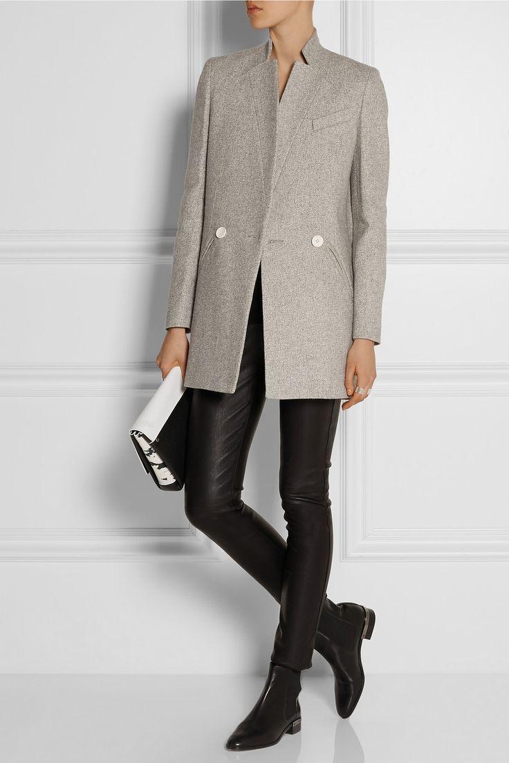 IRO | Halime twill coat | NET-A-PORTER.COM