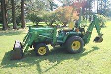 John Deere 755 Compact tractor w/ model 70 loader and 7 Backhoe. ONLY 772 Hrs!!backhoe loader financing apply now www.bncfin.com/apply