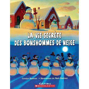 CPRPS 31997000797225 La vie secrète des bonshommes de neige. Les enfants qui, le matin, constatent que leur bonhomme de neige n'a pas le même aspect que la veille ne devraient pas s'inquiéter. C'est tout simplement qu'il a fait comme tous les autres bonshommes de neige. Mais au fait, que font-ils donc tous durant la nuit?