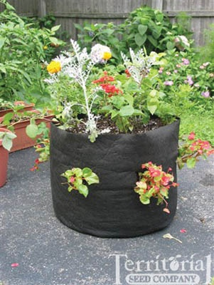 "Breathable fabric ""Smart Pots "" for herbs to trees."
