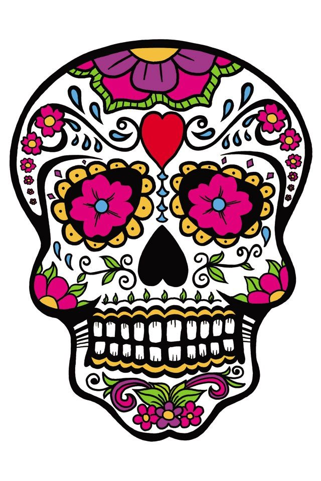 Awesome like ed hardy cool looking pinterest sugar skulls - Sugar skull images pinterest ...