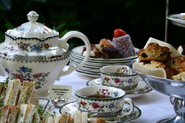 High Tea / Afternoon Tea Chattertea catering Utrecht Netherlands
