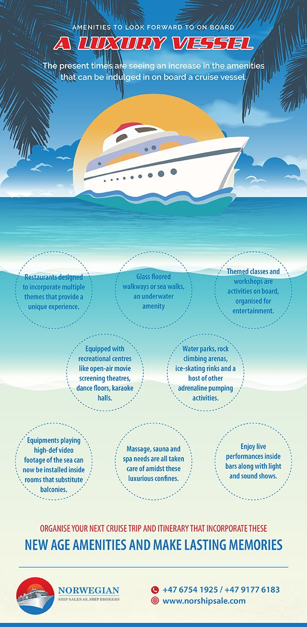 Interested to know what makes luxury cruise liners stand out from the rest? Let this infographic guide you.