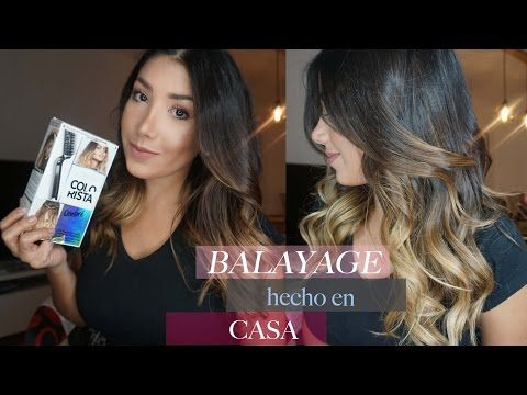 BALAYAGE  RETOQUE  ¡¡ SIN DECOLORANTE !!  BALAYAGE RETOUCH  BEFORE AND AFTER - YouTube
