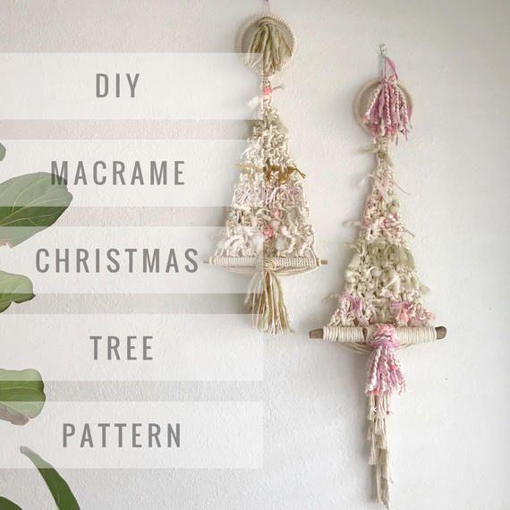 Macrame Pattern Written Pdf By Elsie Goodwin Reform Fibers Etsy Macrame Patterns Christmas Tree Pattern Christmas Snowflakes Pattern