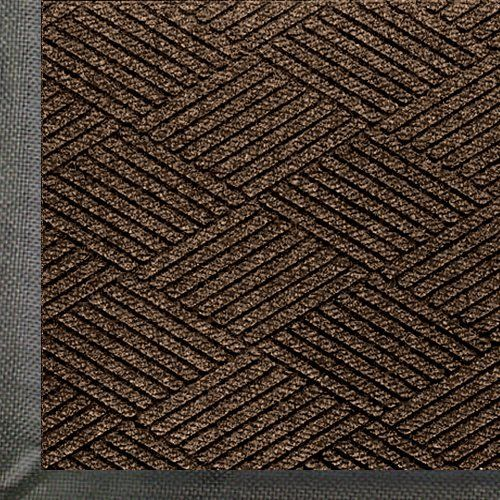 Andersen 2295 Chestnut Brown PET Polyester Waterhog ECO Premier Entrance Mat, 5' Length x 3' Width, For Indoor/Outdoor by Andersen. $72.80. WaterHog Eco premier mats combine all of the performance of the original WaterHog with a unique diamond face pattern creating the ultimate visual appearance. WaterHog Eco premier mats feature a 100 percent post consumer recycled PET face that is reclaimed from plastic bottles. Every 3 x 5 diverts approximately 60 plastic bottles from...