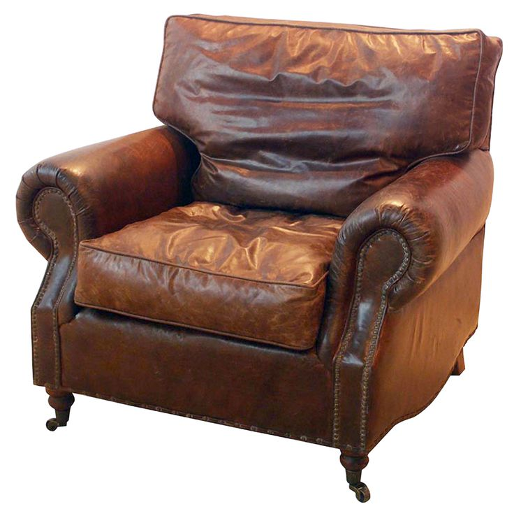 Vintage Leather Kent Armchair Distressed Leathervintage Leatherchesterfield Chairfurniture
