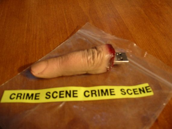 Flash drive finger...