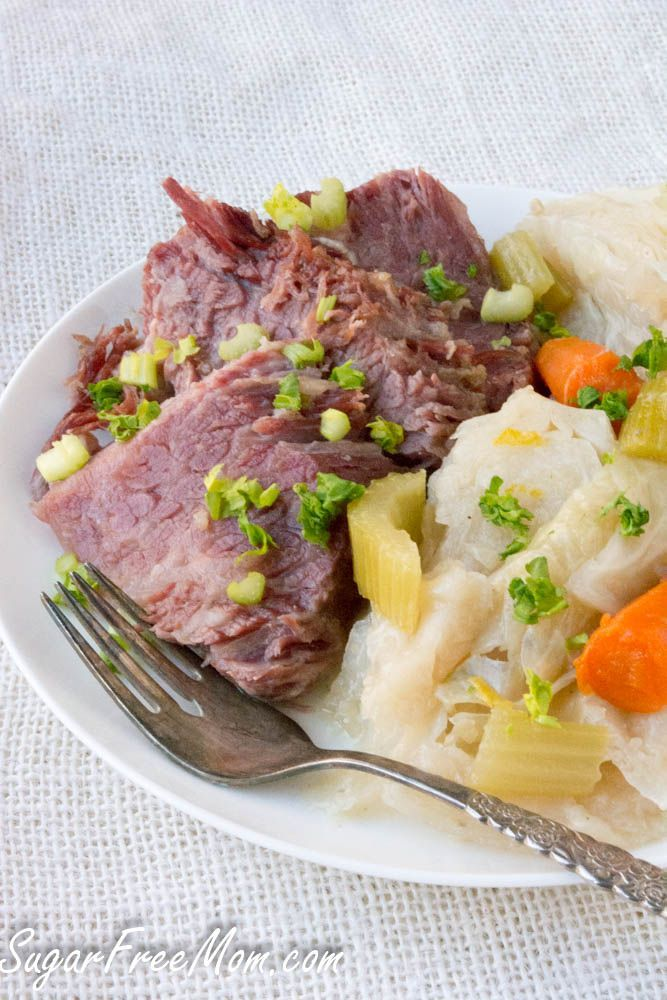 Instant Pot Low Carb Corned Beef And Cabbage Recipe Corn Beef