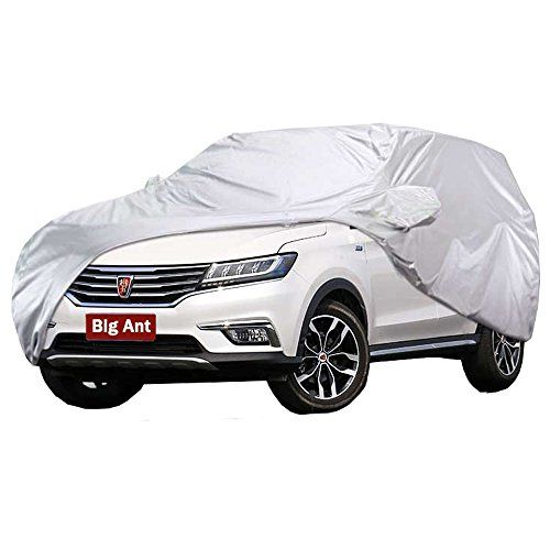 Big Ant Car Cover - Breathable Waterproof Car Covers All Weather Full Size Outdoor Snow Cover Custom Fit Sedan Up to 195 Inches-Sliver. For product info go to:  https://www.caraccessoriesonlinemarket.com/big-ant-car-cover-breathable-waterproof-car-covers-all-weather-full-size-outdoor-snow-cover-custom-fit-sedan-up-to-195-inches-sliver/