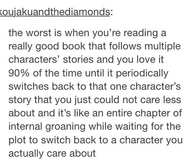 The process of reading parts of Shannara....