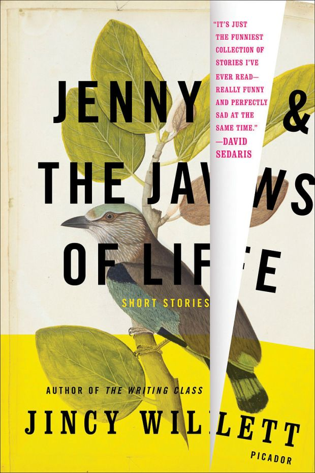 Jenny and the Jaws of Life by Jincy Willett; design by Henry Sene Yee (Picador / June 2008)