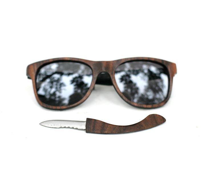 Hidden Knife Sunglasses by Tumbleweeds Handcraft