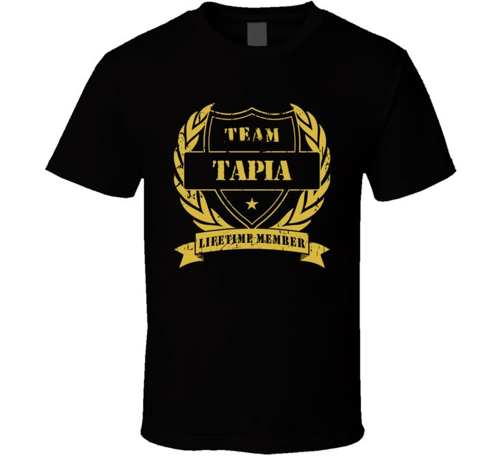 Johnny Tapia Team Tapia Lifetime Member Boxing T Shirt