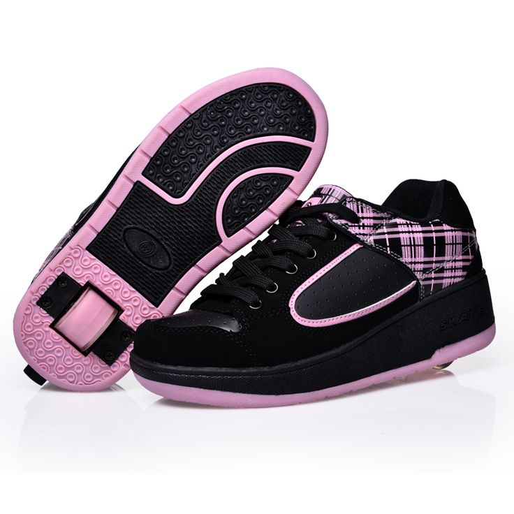 Cheap skate shoes for children, Buy Quality roller skate shoes directly  from China wheel shoes Suppliers: Child Wheels Shoes Jazzy Junior girls  boys roller ...