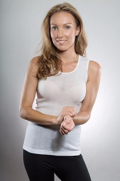 Merino Womens Singlet Vest Camisole - Smart Merino  - From Merino With Love - https://www.smartmerino.co.nz/collections/womens