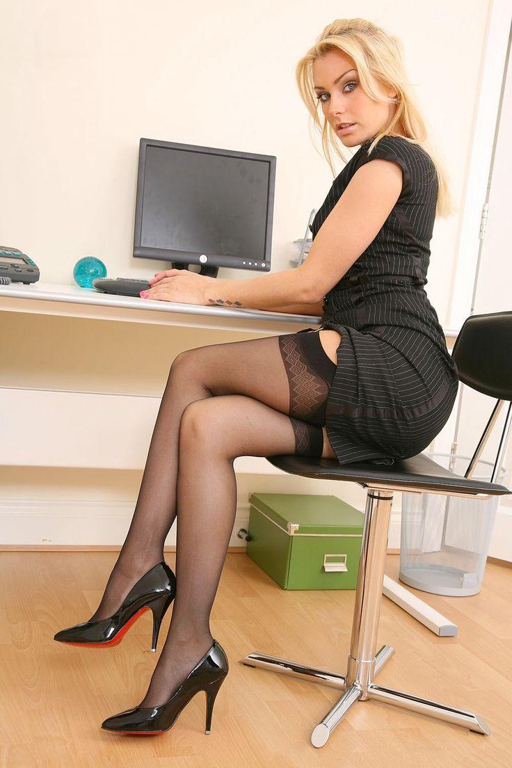 Hot office women amateurs