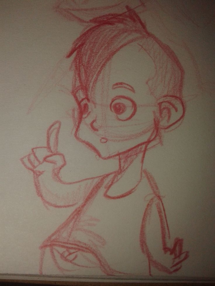 Little boy- sketch- character design