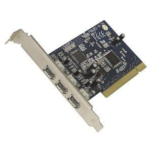 Belkin FireWire 3-Port PCI Card. 3PORT IEEE 1394 PCI CARD NO SOFTWARE NO CABLE 6PIN FWCON. 3 x 6-pin IEEE 1394a FireWire - Plug-in Card by Belkin. $41.01. Standard Warranty: Lifetime Limited Manufacturer/Supplier: Belkin International, Inc Manufacturer Part Number: F5U503V Brand Name: Belkin Product Name: FireWire 3-Port PCI Card Marketing Information: FireWire Three-Port PCI Card brings the revolutionary speed of FireWire technology to your desktop computer, quick...