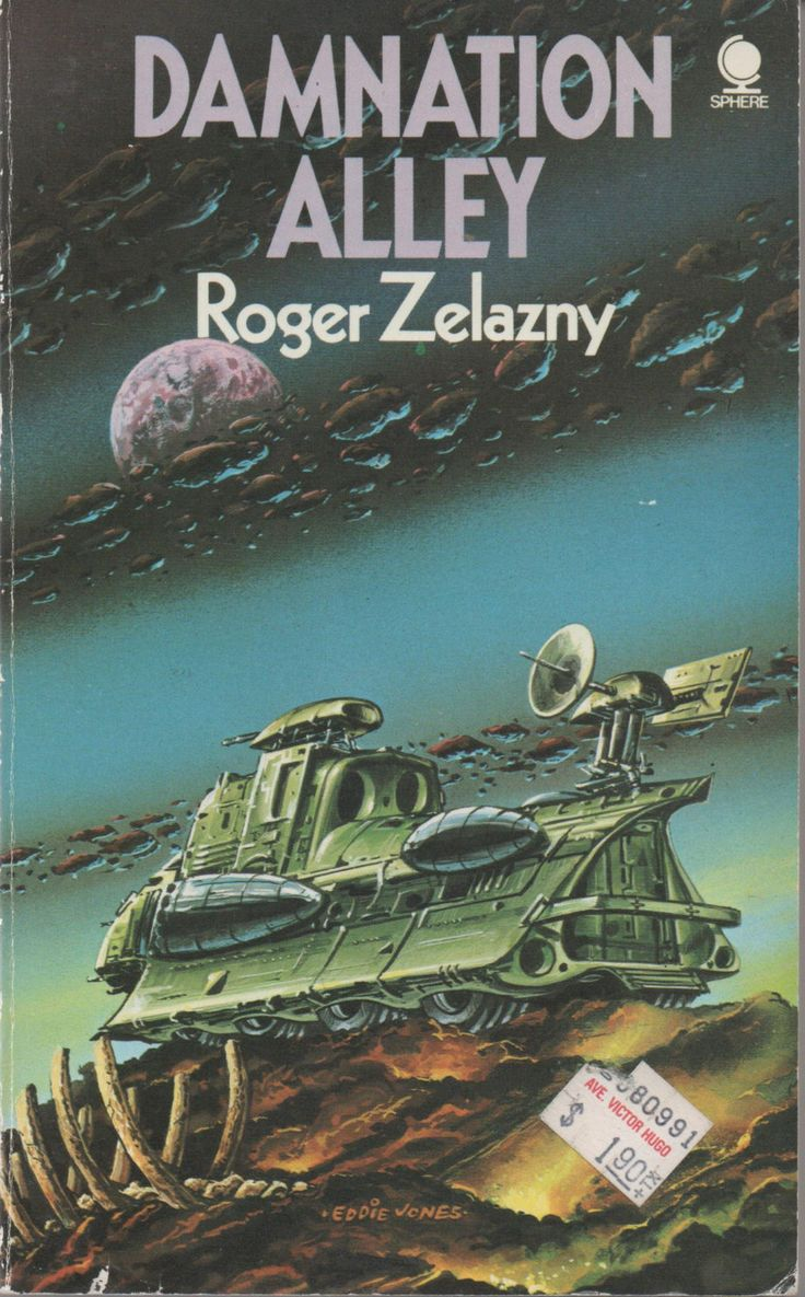Sphere Paperback Science Fiction, Damnation Alley by Roger Zelazny, 1974, good shape by VintageNEJunk on Etsy