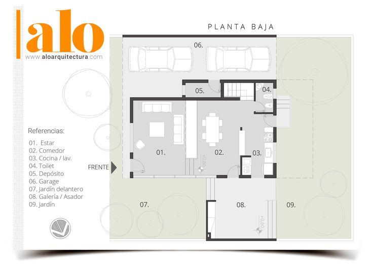 ALO Estudio de ARQUITECTURA • « Proyectos Arquitectónicos & Diseño Gráfico » Planos y Proyectos • Contacto: estudio@aloarquitectura.com • WEB: www.aloarquitectura.com • Camila Juan - Arquitecta.