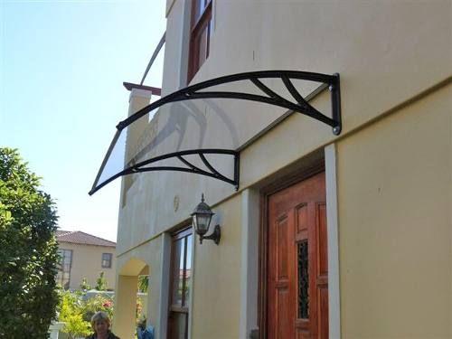 Techo de policarbonato canopy 80 x 1 m toldos for Techos de policarbonato para garage
