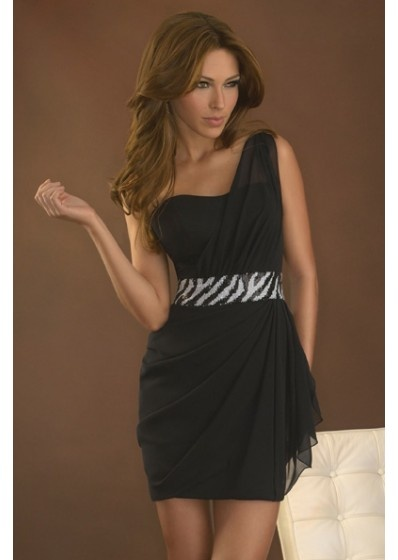 Bridesmaid Dress with Zebra Sash? If i end up having a zebra wedding (love love love this, royal blue sparkle band)
