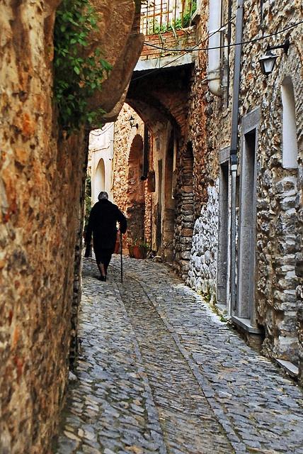 Mesta village, Chios Island, Greece