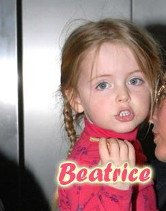 Beatrice Milly McCartney Mills - can see the similarity with her dad Paul