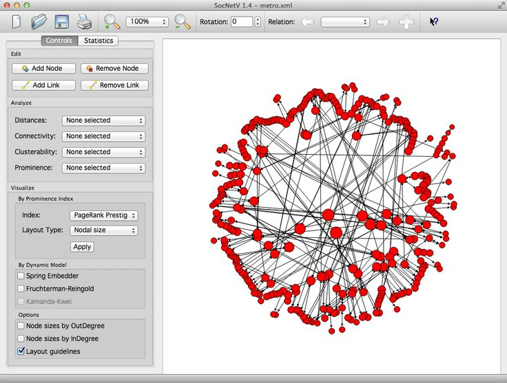 Social Network Diagram Software Introduction To Electrical Wiring