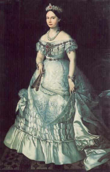 King Willem II's only daughter, Grand Duchess Sophie of Saxe-Weimar-Eisenach