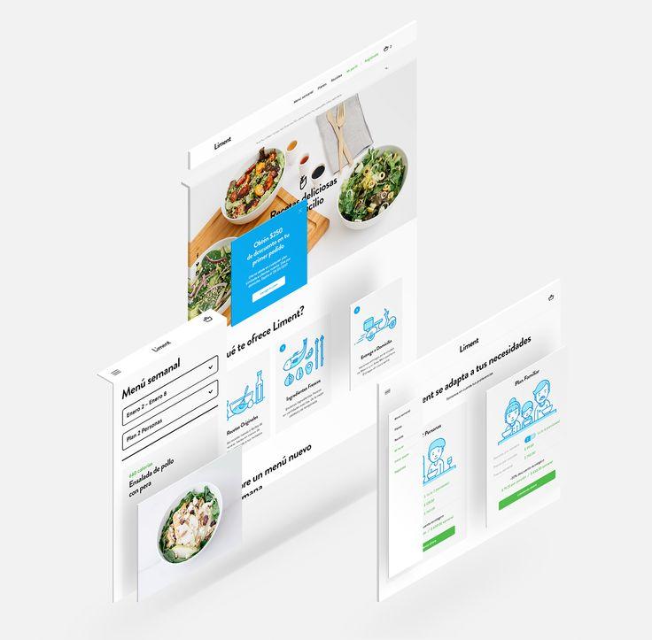"""다음 @Behance 프로젝트 확인: """"Liment Website"""" https://www.behance.net/gallery/46128115/Liment-Website"""