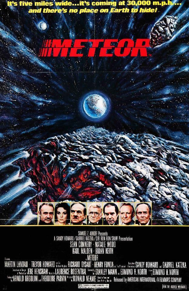 Meteor (1979) Original One Sheet Movie Poster
