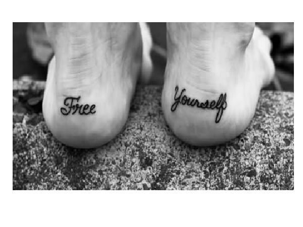 nice 14 Awesome Heel Tattoo Designs