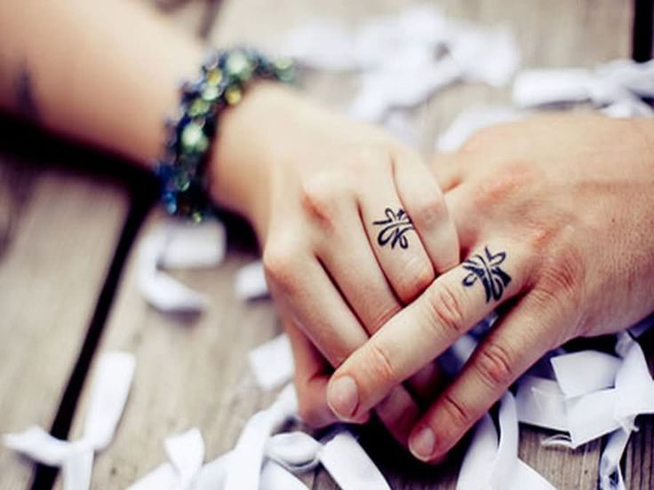 Christian Wedding Ring Tattoos: 27 Best Unique Wedding Ring Tattoos Images On Pinterest