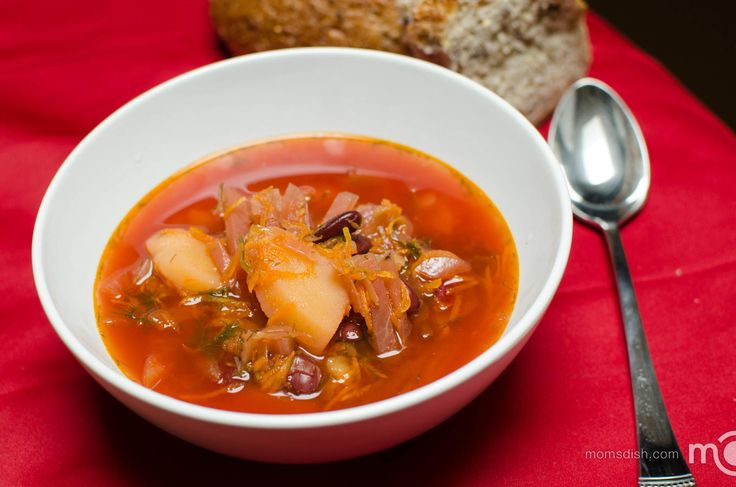Ukrainian Red Borscht Soup Recipe — Dishmaps