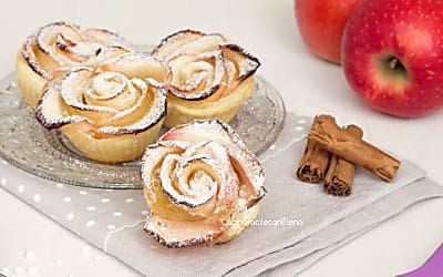 Rose di mele - Ricetta veloce e golosa