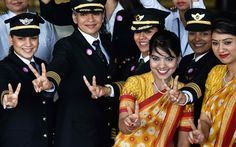 With International Women's Day on the horizon, Air India has made history by sending an all-female crew around the world.