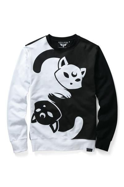 Kawaii fashion Yin Yang Sweatshirt [B] | KILLSTAR