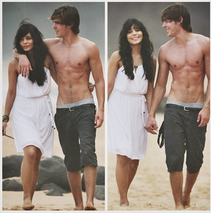 Vanessa Hudgens x Zac Efron and yes I know that they break up