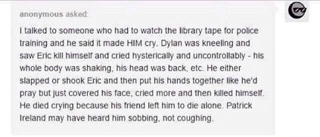 Columbine. Damn this is so sad