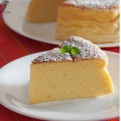 Japanese Cheesecake. Pastel de queso japonés