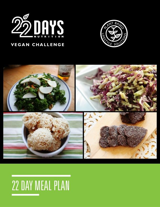 Vegan and gluten-free challenge! Get a new, healthy habit in 22 days.