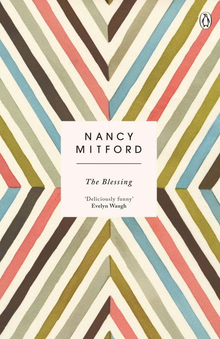 Penguin has published new editions of a series of books by author Nancy Mitford, which have cover designs based on paintings of geometric patterns by artist Lourdes Sanchez.