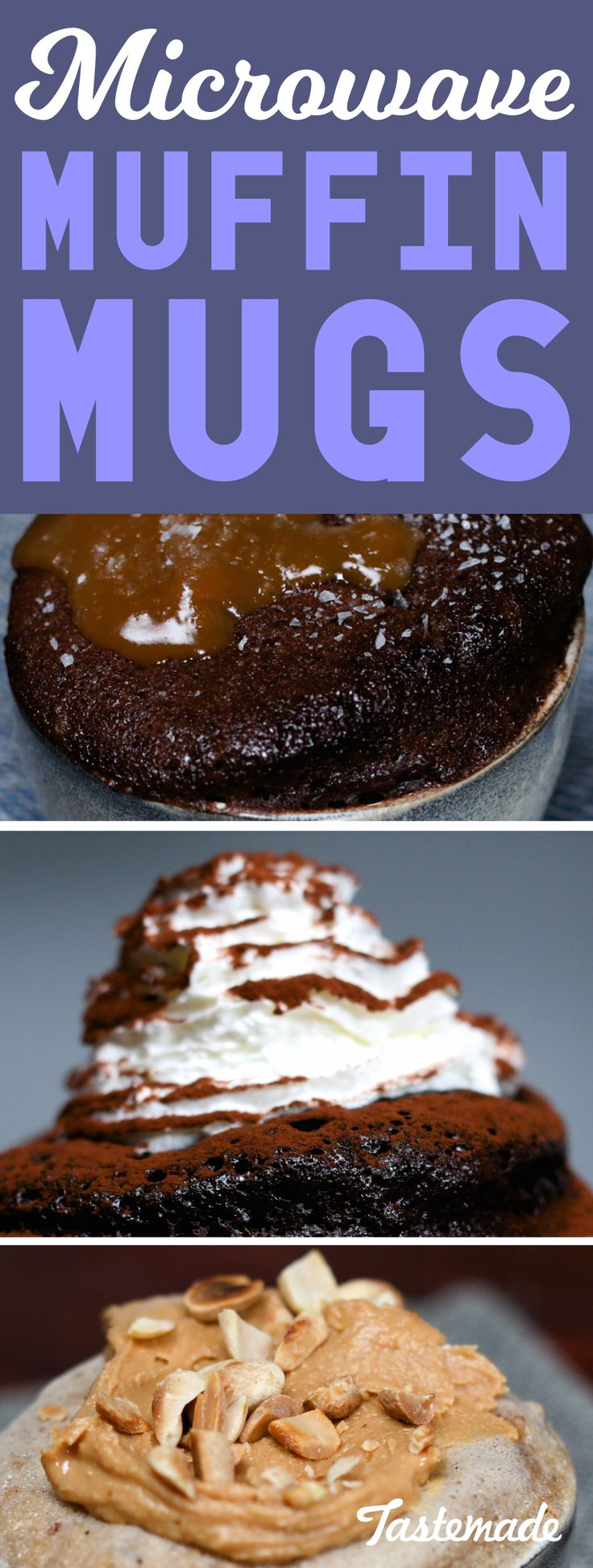 Who knew you could create such moreish desserts in the microwave!?